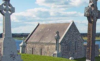 Clonmacnoise tombstones