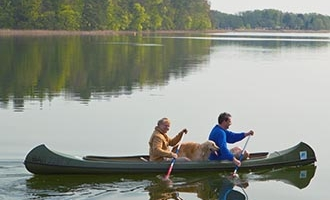 Canoe in Mirow