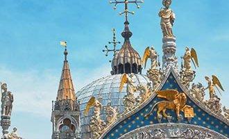 Venetian Lion on St. Mark's Basilica